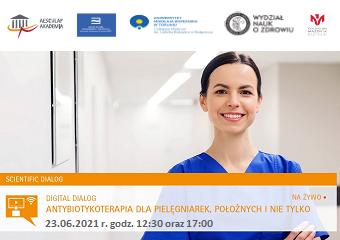 Webinarium: Antybiotykoterapia dla pielęgniarek i położnych