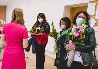 Wizyta gości z Uniwersytetu Medycznego w Sofii